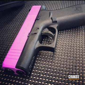 Glock 43x Cerakoted Using Purplexed
