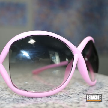 Tom Ford Sunglasses Cerakoted Using Frost And Prison Pink