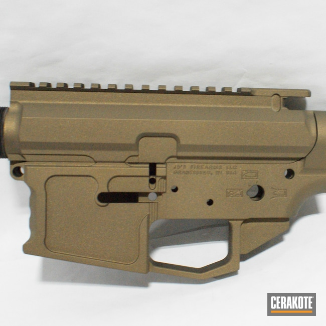 Cerakoted: S.H.O.T,Handguard,Upper / Lower / Handguard,Burnt Bronze H-148,AR 10