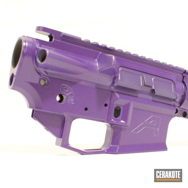 Cerakoted: S.H.O.T,Aero Precision,Purple Monster,Handguard,LOLLYPOP PURPLE C-163,AR15 Lower