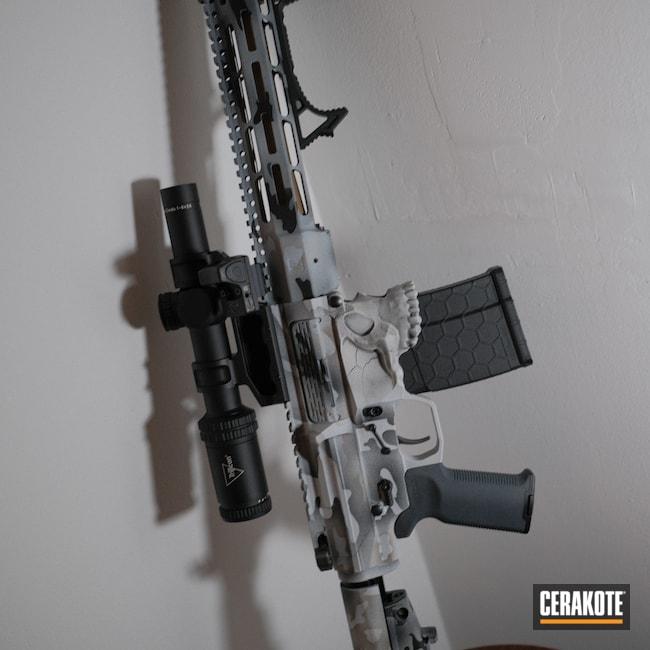 Cerakoted: Noveske Tiger Eye Brown H-187,Hidden White H-242,S.H.O.T,Steel Grey H-139,Armor Black H-190