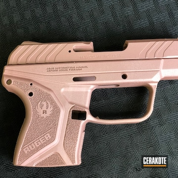 Ruger Lpc Cerakoted Using Rose Gold