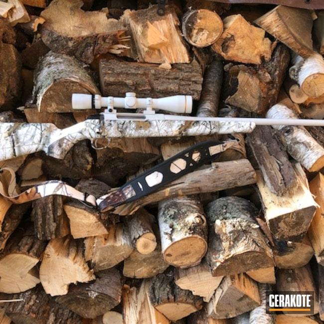 Cerakoted: S.H.O.T,Bolt Action Rifle,Hunting,VX3i,Scope,MATTE CERAMIC CLEAR MC-161,FROST H-312,270,Tikka,Leupold,Tikka T3x