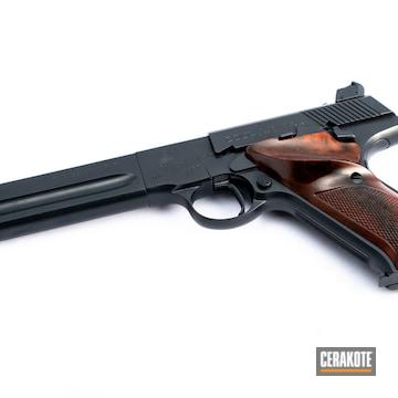 Colt 22 Cerakoted Using Midnight