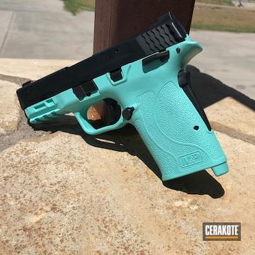 Smith & Wesson M&p Cerakoted Using Robin's Egg Blue