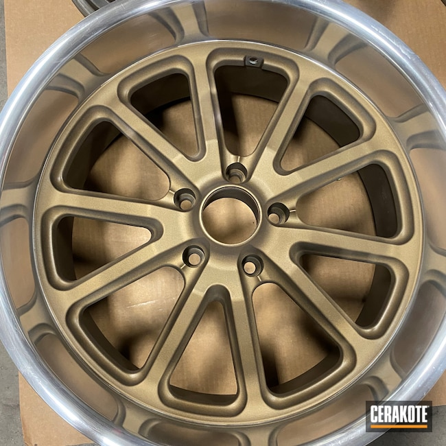Cerakoted: Rims,Burnt Bronze C-148,Automotive,Wheels