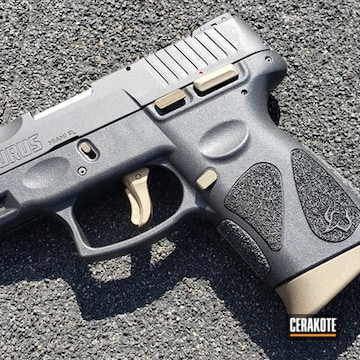 Taurus G2c Cerakoted Using Burnt Bronze