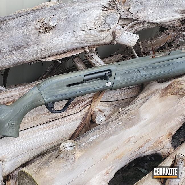 Cerakoted: S.H.O.T,Bright White H-140,Winchester,Winchester SX4,Desert Sage H-247,Shotgun,USMC Red H-167,Armor Black H-190,KEL-TEC® NAVY BLUE H-127,O.D. Green H-236,20 Gauge