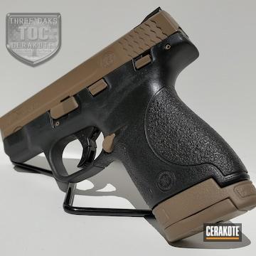 Smith & Wesson M&p Shield Cerakoted Using Magpul® Flat Dark Earth