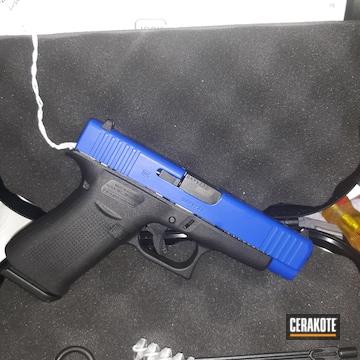Glock Cerakoted Using Blue Flame