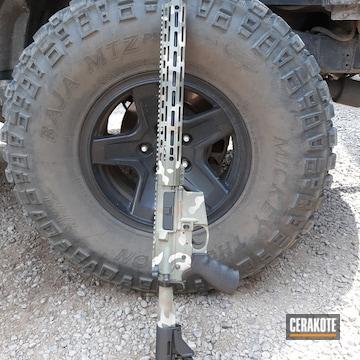 Multicam Ar Cerakoted Using Desert Sage, Glock® Fde And O.d. Green