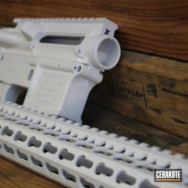 Cerakoted: Bright White H-140,S.H.O.T,Rifle,Graphite Black H-146,.223,AR-15