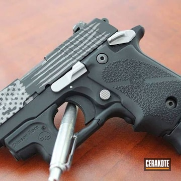 Sig Sauer P238 Cerakoted Using Graphite Black