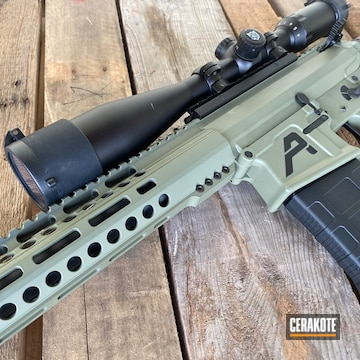 Aero Precision Ar Build Cerakoted Using Forest Green