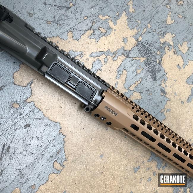 Cerakoted: S.H.O.T,Custom Mix,Hodge Defense,20150 E-190,HDSI,Custom Color,Rail,Handguard,Hodge Deffense Systems,T40,S Lock
