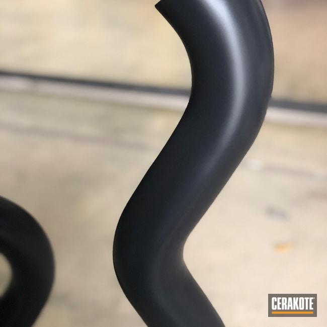 Cerakoted: Exhaust,Automotive,Cobra Black V-166