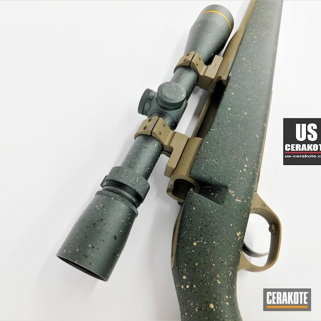 Cerakoted: S.H.O.T,Gun Parts,vx-3i,Highland Green H-200,Coyote Tan H-235,Scope,Gloss Black H-109,Rings,Mil Spec O.D. Green H-240,Leupold Scope,Optic,FS FIELD DRAB H-30118,CHARCOAL GREEN H-338,Leupold,Talley Rings