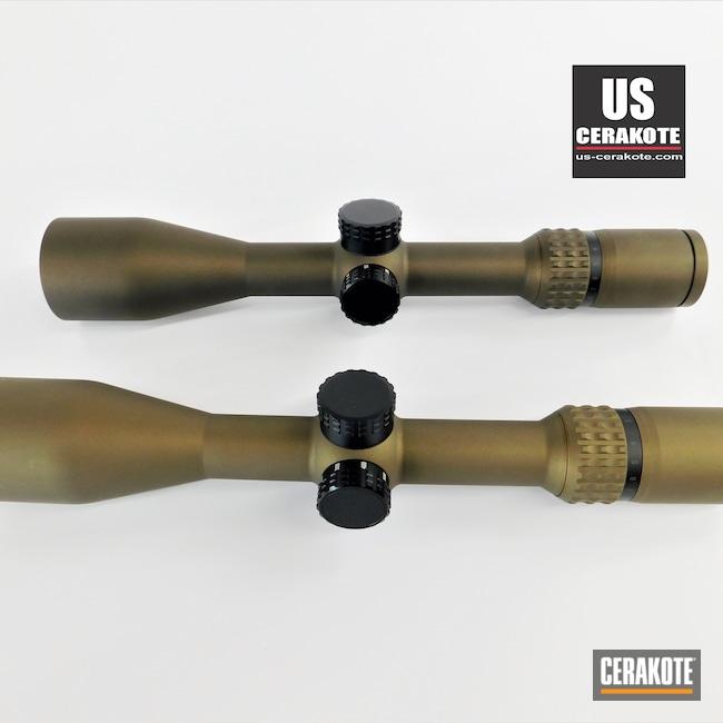 Cerakoted: S.H.O.T,Scope,Burris Scope,Scopes,Veracity,Burnt Bronze H-148,Burris,Gun Parts,Midnight Bronze H-294