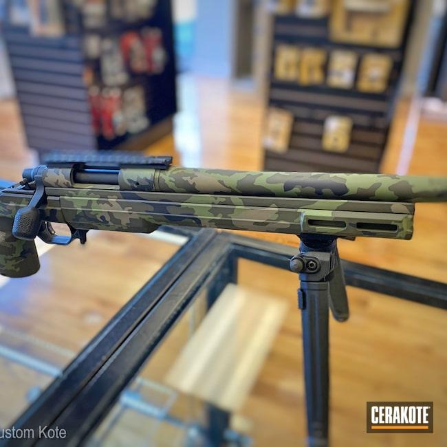 Cerakoted: S.H.O.T,6.5 Creedmoor,Graphite Black H-146,Remington,MAGPUL® O.D. GREEN H-232,MULTICAM® DARK GREEN H-341,Remington 700
