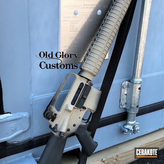 Cerakoted: S.H.O.T,Faded,Graphite Black H-146,BENELLI® SAND H-143,Old School,AR-15