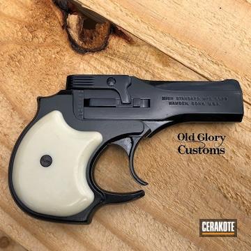 High Standard Derringer Cerakoted Using Midnight
