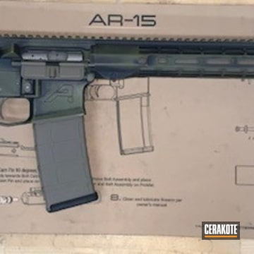 Aero Precision Ar Build Cerakoted Using Magpul® O.d. Green, Coyote Tan And Graphite Black