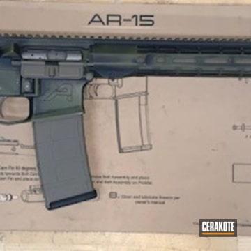 Aero Precision Ar Build Cerakoted Using Magpul® O.d. Green, Coyote Tan And Graphite Black