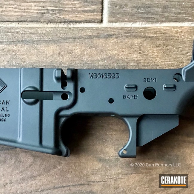 Cerakoted: S.H.O.T,Multi cal,Lower,Graphite Black H-146,American Tactical,AR-15