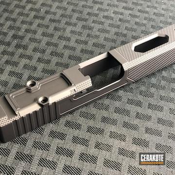 Glock Slide Cerakoted Using Armor Black