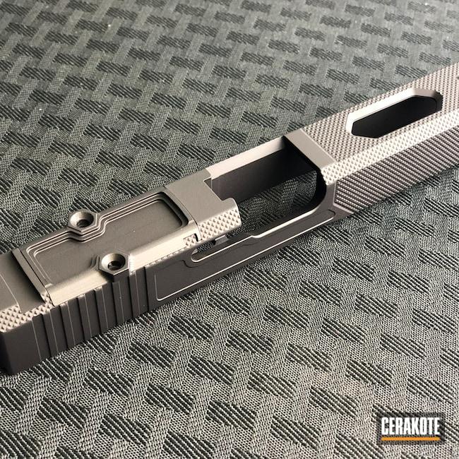 Cerakoted: S.H.O.T,Firearm,Armor Black H-190,Pistol,Glock