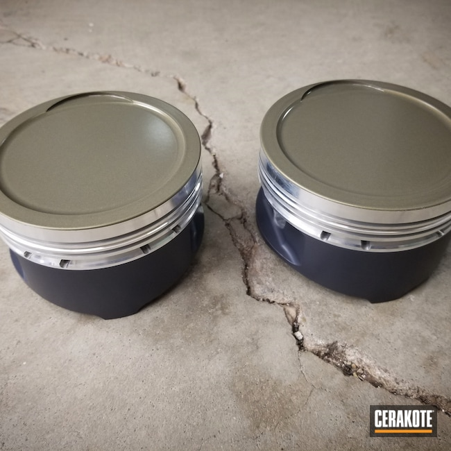 Cerakoted: PISTON COAT (Air Cure) C-186,Automotive,MICRO SLICK DRY FILM LUBRICANT COATING (AIR CURE) C-110,Pistons