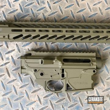 Nemo Arms Ar Builder Set Cerakoted Using Mil Spec O.d. Green