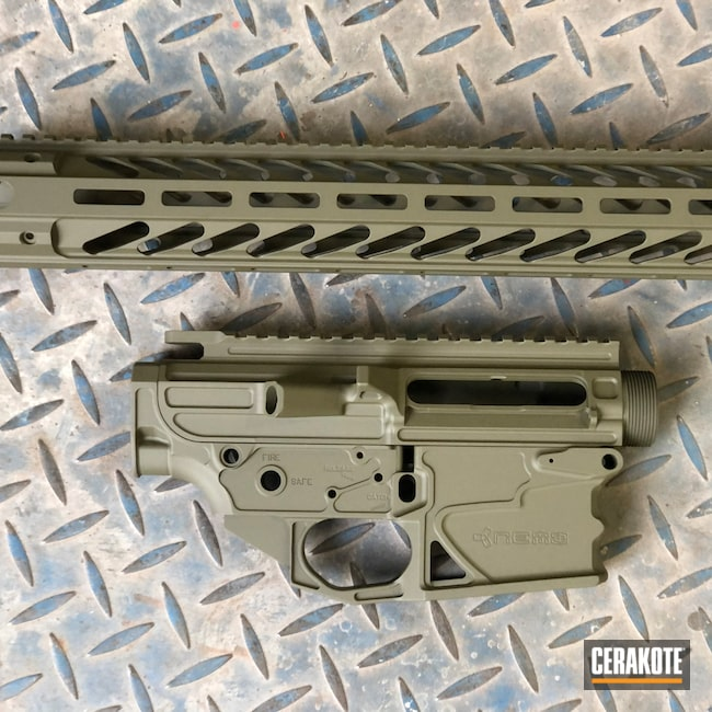 Cerakoted: S.H.O.T,Nemo Arms,Mil Spec O.D. Green H-240,Firearms,AR 10