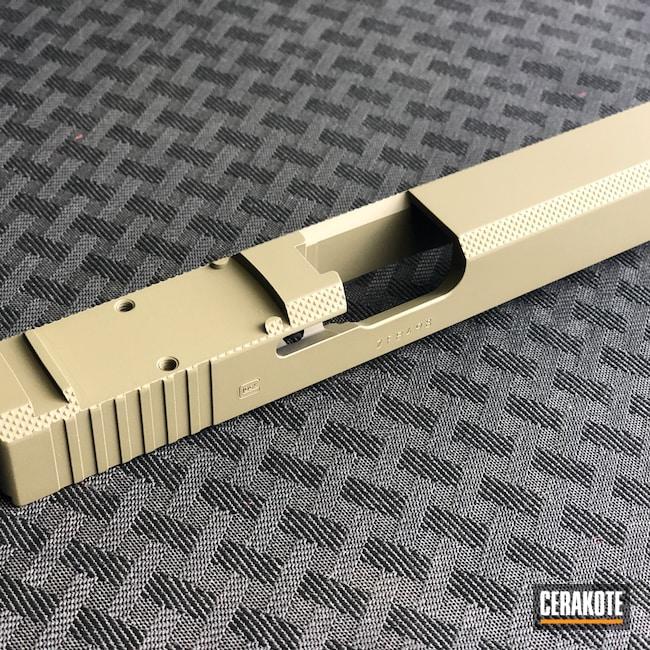 Cerakoted: S.H.O.T,Mil Spec O.D. Green H-240,Firearm,Pistol,Glock