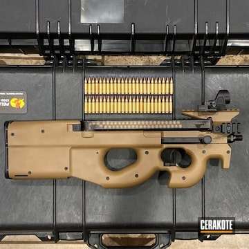 Fn P90 Cerakoted Using Magpul® Fde