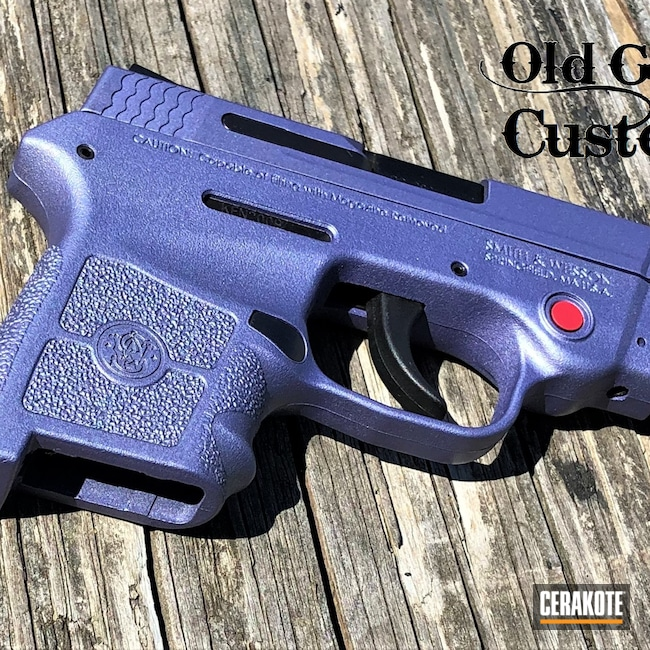 Cerakoted: S.H.O.T,BG380,Smith & Wesson,M&P Bodyguard 380,CRUSHED ORCHID H-314