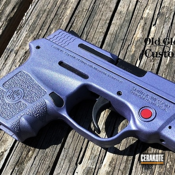 M&p Bodyguard 380 Cerakoted Using Crushed Orchid