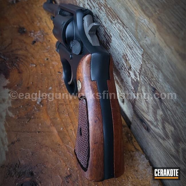 Cerakoted: S.H.O.T,M&P,Midnight E-110,38 Special,Smith & Wesson,Revolver,Restoration,M&P Revolver,.38