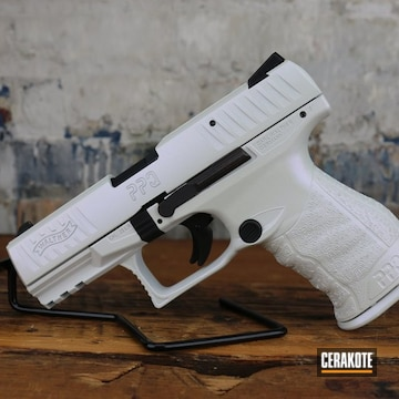 Walther Ppq Cerakoted Using Stormtrooper White