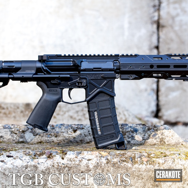 Cerakoted: S.H.O.T,AR Pistol,Battle Arms Development,BLACKOUT E-100,PDW,5.56,AR-15