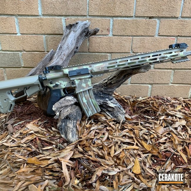 Cerakoted: FS BROWN SAND H-30372,MAGPUL® FLAT DARK EARTH H-267,Federal Brown H-212,O.D. Green H-236,Boomstick,Noveske Bazooka Green H-189,.223 Wylde,Wilson Combat