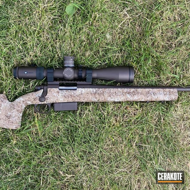 Cerakoted: S.H.O.T,Rifle,Bolt Action,VORTEX® BRONZE H-293,.243,Remington 700