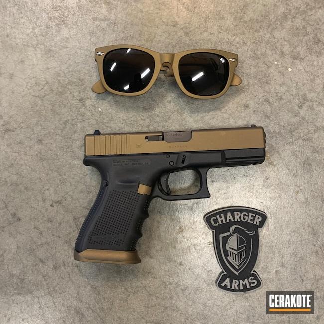 Cerakoted: S.H.O.T,Glock 19,9mm,Sunglasses,Burnt Bronze H-148,Glock