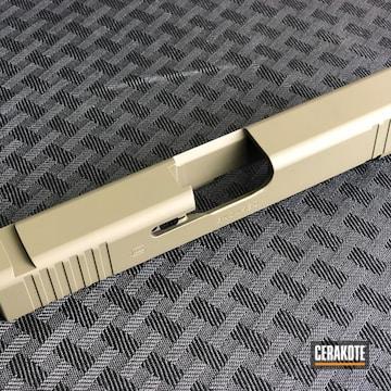 Glock Slide Cerakoted Using O.d. Green