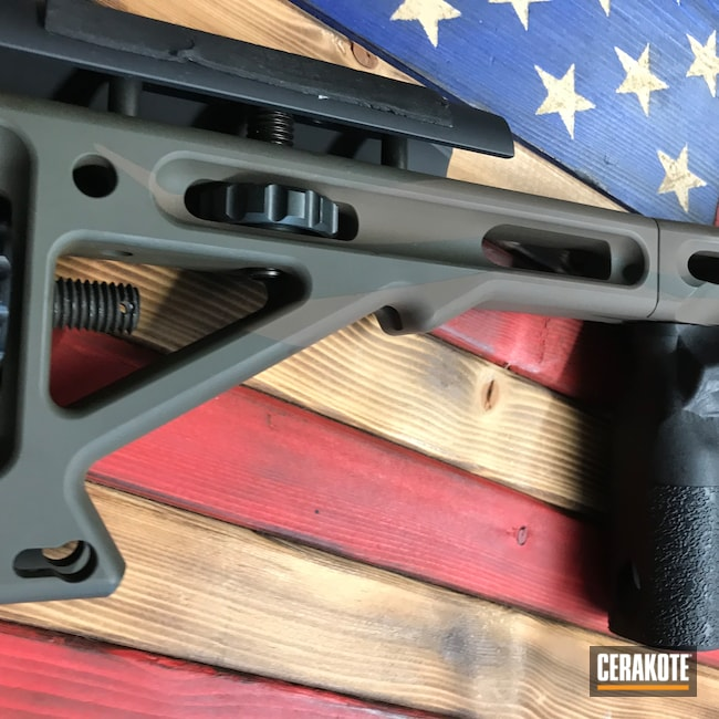 Cerakoted: S.H.O.T,Precision Rifle,MPA,MAGPUL® STEALTH GREY H-188,Chassis,Graphite Black H-146,American Flag,MAGPUL® O.D. GREEN H-232,Chocolate Brown H-258