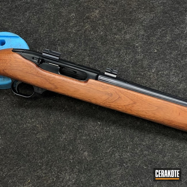 Cerakoted: S.H.O.T,44 Carbine,Midnight E-110,Ruger,Refinished