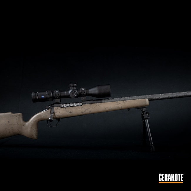 Cerakoted: S.H.O.T,Bolt Action Rifle,Custom Rifle,Graphite Black H-146,.300 PRC