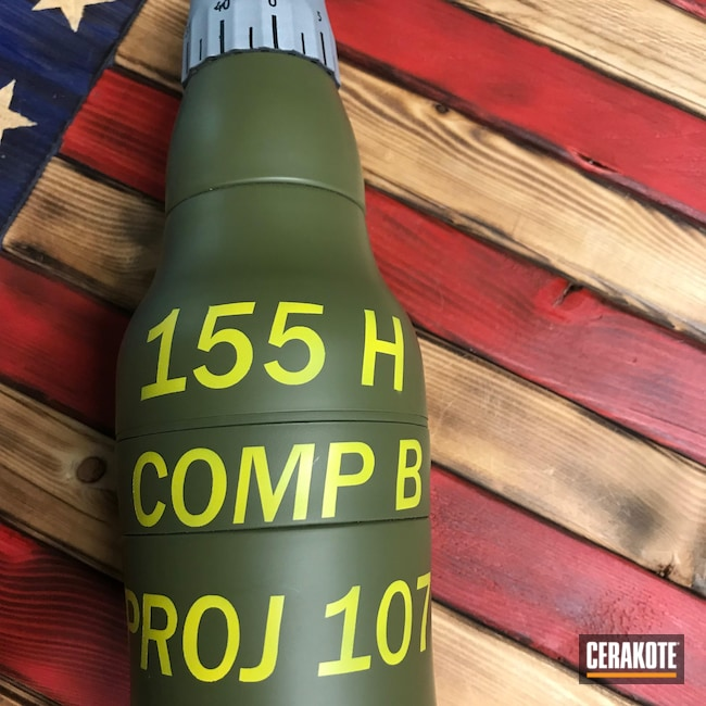 Cerakoted: COPPER H-347,Corvette Yellow H-144,Graphite Black H-146,Hold My Beer,Crushed Silver H-255,Orca,Noveske Bazooka Green H-189,Artillery Projo,Coozie