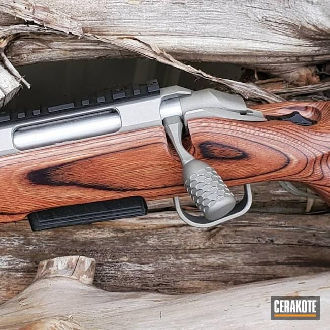 Cerakoted: S.H.O.T,Rifle,Rifles,Ruger,Graphite Black H-146,American,Titanium H-170