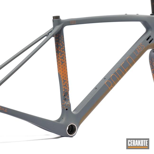 Cerakoted: TEQUILA SUNRISE H-309,Trail Donkey,Gravel,Sports,Bicycle,Sports Equipment,Burnt Bronze H-148,Rodeo Labs,COBALT KINETICS™ SLATE H-295